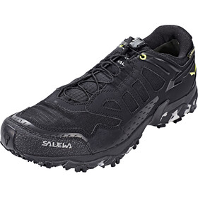 Salewa Ultra Train GTX Shoes Men Black/Swing Green
